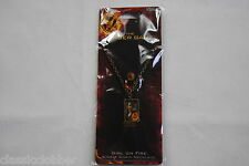 HUNGER GAMES GIRL ON FIRE SINGLE CHAIN NECKLACE BNWT OFFICIAL NECA MOVIE FILM