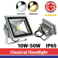 LED Floodlight Outside Light 10 20 30 50 80W Security Outdoor Garden Wall IP65
