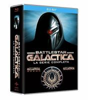 Battlestar Galactica - Serie Completa - Stag. 1/4 - Cofanetto 22 Blu Ray - Nuovo