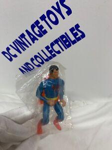 "Vintage 1975 Mego SUPERMAN 3 3/4"" In Factory Bag (Comic Action Heroes)"