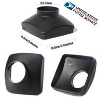 1 Pc Plastic O.D. 75mm Single Hole Outlet Cover for Air Diesel Parking Heater