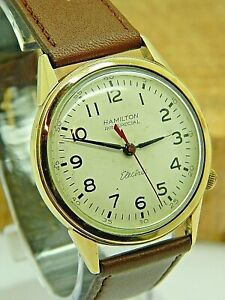 Vintage Hamilton 505 Electric RR special Railroad approved wrist watch CLEAN