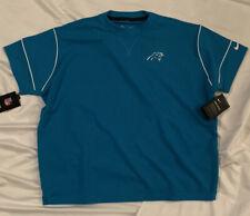 Carolina Panthers Nike Women's Breathe Fashion Short Sleeve Top Shirt XL NWT $50