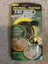 Sink Snake Plumber Drain Cleaner Unclog Sink Or Tub Drain
