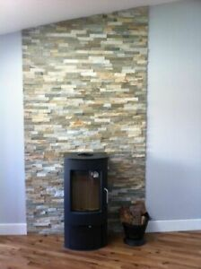 Oyster Slate  split face wall cladding for feature walls 3 d effect