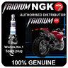NGK Iridium IX Spark Plug fits SUZUKI DR125SM 125cc 08-> [CR8EIX] 4218
