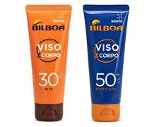 Bilboa Crema Solare Viso e Corpo Anti Scottature Portatile 75 ml