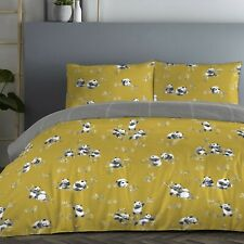 Fusion Panda Ochre Easy Care Reversible Duvet Sets