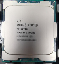 Intel Xeon W-2191B CPU SR3RW 18 Core 36 processor  2.3 GHZ  HP
