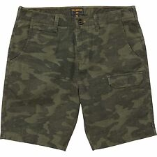 2016 NWT MENS BILLABONG VANDERBERG SHORTS $65 32 fatigue camo slub canvas