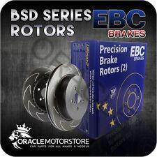 NEW EBC BSD FRONT DISCS PAIR TRACK / RACE BRAKING PADS OE QUALITY - BSD7122