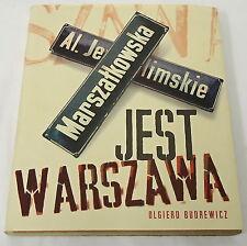 1997 Olgierd Budrewicz ~ JEST WARSZAWA, Warsaw is Here ~ Polish, photos, HB DJ