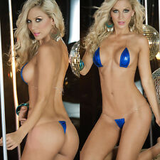 Episode Sexy Lingerie Night Wear Sleep Room Babydoll dress Women Teddy LH140BLUE
