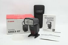 Excellent Canon Speedlite 600EX-RT Shoe Mount Flash With Case #31380