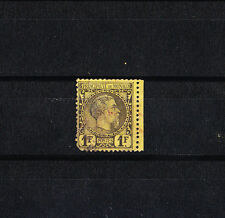 MONACO  prince Charles III     1f   noir sur jaune   num:  9   oblitéré