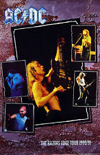 AC/DC 1990 The Razors Edge Original Tour Promo Poster