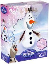 50cm INFLATABLE BLOW UP DISNEY FROZEN SNOWMAN OLAF INDOOR OUTDOOR TOY 65-7123/5