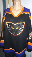 Josh Gratton Black 2005-2006 Philadelphia Phantoms GAME WORN AHL NHL jersey