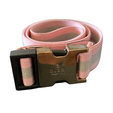 Pink Gucci Kids Adjustable Belt
