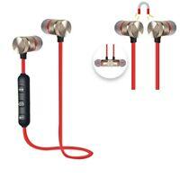 Bluetooth Earphone Sport high fidelity stereo In-Ear Earphone super bass red