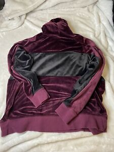 Champion Elite Women's Velour Hoodie Size Large