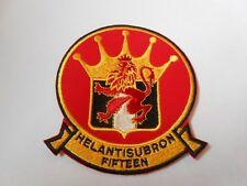 USAF  / USN      cloth patch HEL ANTI SUB RON  FIFTEEN