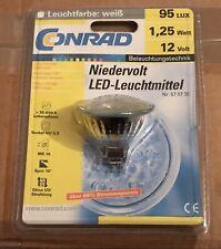 Niedervolt LED Leuchtmittel GU 5.3 - nur 1,25 Watt ! - Top Qualität - OHNE UV !