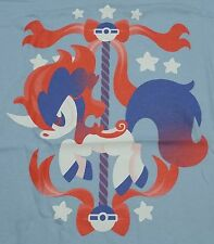 """Carousel Colt"" Pocket Monsters Keldeo Men's XL Shirt Theyetee"