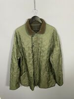 BARBOUR POLARQUILT Jacket - XXL - Green - Great Condition - Mens