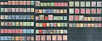 GREAT BRITAIN & COLONIES LOT 131 STAMPS 1870-1936 USED INCL SCARCE CV OVR $1.200