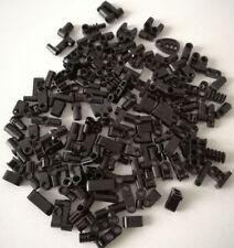 LEGO 120X TECHNIC TONDI MISTI PICCOLI BRICK PIASTRE NERO LOTTO SET KG MATTONCINI