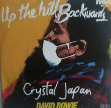 """7"""" 1980 GERMAN PRESS RARE IN MINT- ! DAVID BOWIE : Up The Hill Backwards"""