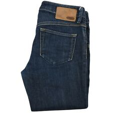 Diesel Newz Womens Denim Jeans Long Pants W28 L32 D. blue Low Rise Slim Straight