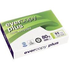 NEU Recycling Kopierpapier EVERCOPY PLUS A4 80g 2.500 Blatt weiß Druckerpapier