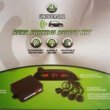 Install Bay Te-4Psk Universal Rear Parking Assist Kit 4 Sensor Camera & Sensors