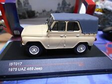UAZ 469 Jeep 1975 beige Geländewagen SUV NEU IXO IST 1:43