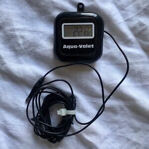 Aquarium Fish Tank Thermometer Digital LCD Marine Water Stick On