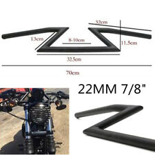 22MM Z-Bar Motorcycle Drag Handle Bar Accessories for Harley Honda Suzuki Custom