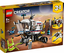 31107 LEGO Creator Space Rover Explorer 3-in-1 Space Ship Set 510 Pieces Age 8+