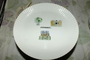 RAE DUNN JOURNEY cupcake PLATES SET(s) CELEBRATE PARTY TIME DINNER LUNCH NEW