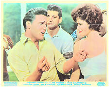 KID GALAHAD ORIGINAL LOBBY CARD ELVIS PRESLEY SINGING TO JOAN BLACKMAN
