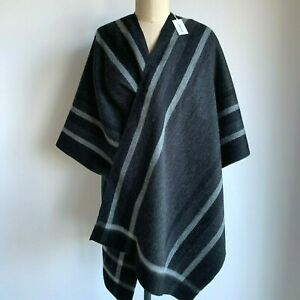 COUNTRY ROAD - NEW! framed poncho knit cape wrap 8,10,12,14,16,18 L,XL CR LOVE