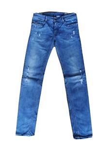 DIESEL Sleenker Jeans Hose Blau Größe W31 L32 used Look #TOP strech 084KJ NP130€