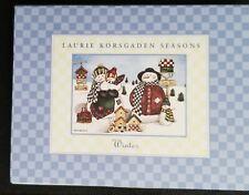 LAURIE KORSGADEN Watercolors SEASONS set of 12 blank notecards and envelopes
