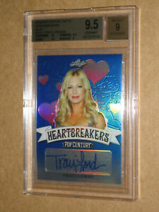 ✨💋 BGS 9.5 2019 POP CENTURY TRACI LORDS SIGNED AUTO autograph SEXY ACTRESS CARD