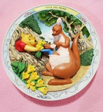 """""""Silly Old Bear"""": Winnie The Pooh 3D Plate by Bradford Exchange"""