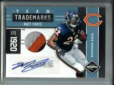 Matt Forte 2011 Panini Limited Autograph Game Used Jersey Patch #4/10