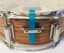 Snare Flair Drum Strap Percussion Aqua Blue USA Made SnareFlair Straps