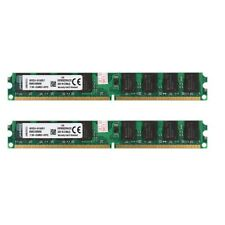 For Kingston 4GB(2x2GB) DDR2 800Mhz Deaktop Memory PC2-6400 Computer DIMM RAM