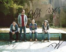 """Brand New band Reprint Signed 11x14"""" Poster #1 RP ALL 4 Members Autographed"""